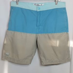 Toddland Colorblock Flatfront Shorts